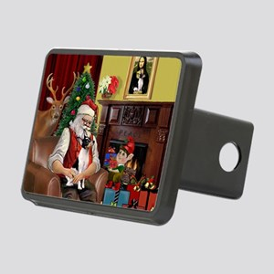 card-SantaHm-ToyFoxT Rectangular Hitch Cover
