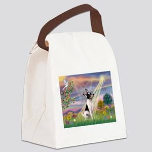 card-CldStar-ToyFoxT Canvas Lunch Bag