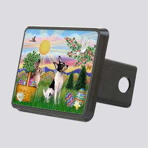 ORN-Rnd-Easter-ToyFoxT Rectangular Hitch Cover