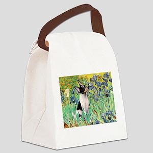 card-Irises-ToyFoxT Canvas Lunch Bag