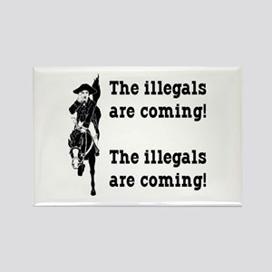 The Illegals Rectangle Magnet