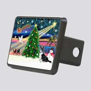 XmasMagic/Corgi (12BW) Rectangular Hitch Cover