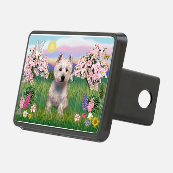 Blossoms & Westie Hitch Cover