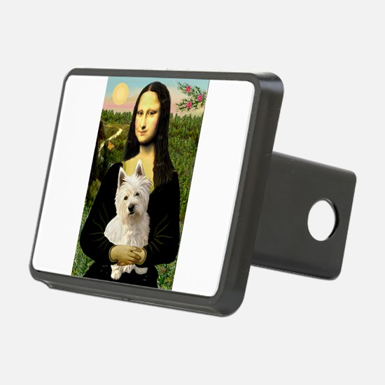 Mona and her Westie Hitch Cover
