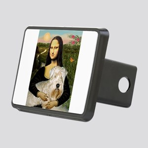 8x10-MONA-Wheaten1-lap Rectangular Hitch Cover