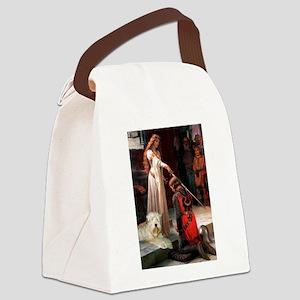 5.5x7.5-Accolade-Wheaten1 Canvas Lunch Bag
