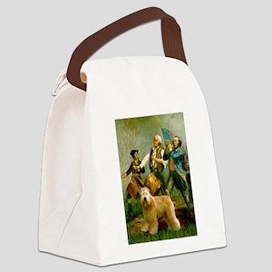 5.5x7.5-Spirit76B-Wheaten2B Canvas Lunch Bag