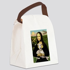 5.5x7.5-Mona-Whippet2 Canvas Lunch Bag