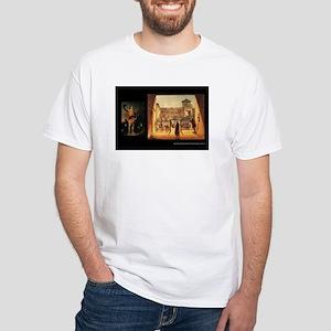 NAF Welcome White T-Shirt