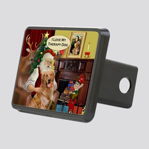 Santa's Golden Therapy Rectangular Hitch Cover