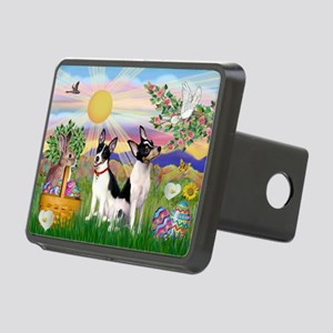 ORN-Rnd-Easter-ToyFox Rectangular Hitch Cover