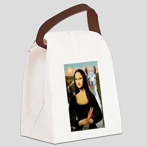 MP--Mona-Llamab7 Canvas Lunch Bag