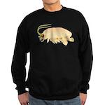 Mole Shrimp Sand Crab Sand Flea Sweatshirt (dark)
