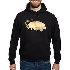 Mole Shrimp Sand Crab Sand Flea Hoodie (dark)