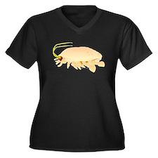 Mole Shrimp Sand Crab Sand Flea Women's Plus Size