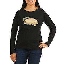 Mole Shrimp Sand Crab Sand Flea Women's Long Sleev
