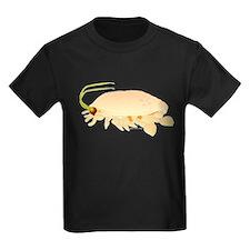 Mole Shrimp Sand Crab Sand Flea Kids Dark T-Shirt