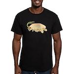 Mole Shrimp Sand Crab Sand Flea Men's Fitted T-Shi