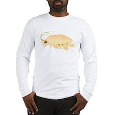 Mole Shrimp Sand Crab Sand Flea Long Sleeve T-Shir
