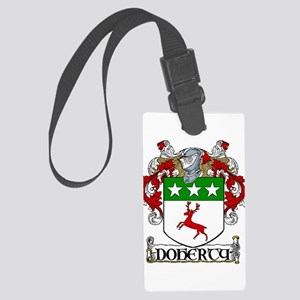 Doherty Coat of Arms Large Luggage Tag
