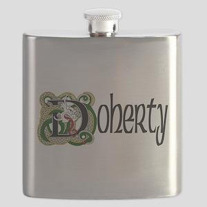 Doherty Celtic Dragon Flask