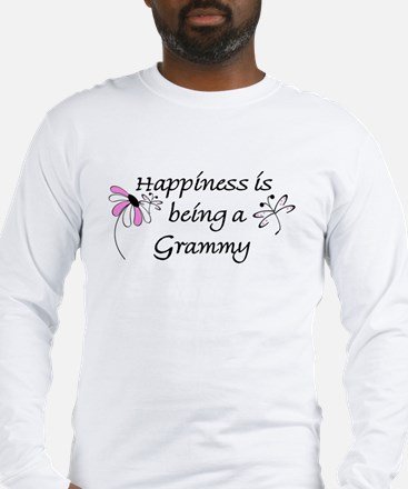 Happiness Is Grammy Long Sleeve T-Shirt