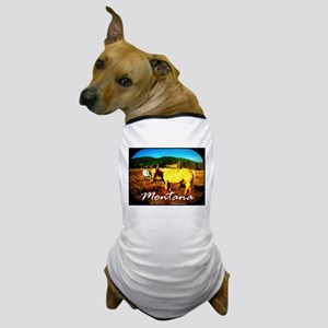 Montana Horse Dog T-Shirt