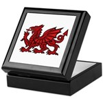 Red Welsh Dragon Keepsake Box