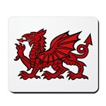 Red Welsh Dragon Mousepad