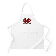 Red Welsh Dragon BBQ Apron