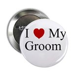 I (heart) My Groom Button