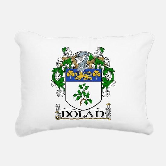 Dolan Coat of Arms Rectangular Canvas Pillow