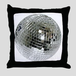 Spazzoid Disco Ball Throw Pillow