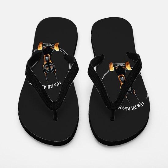 Doberman IAAM Flip Flops