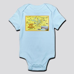 Lake of the Ozarks Map Infant Bodysuit