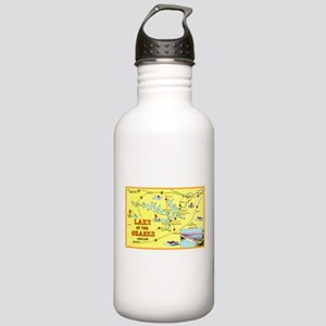 Lake of the Ozarks Map Stainless Water Bottle 1.0L