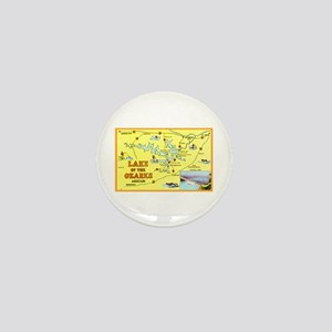 Lake of the Ozarks Map Mini Button