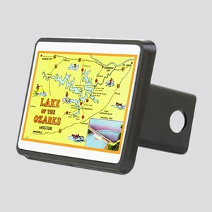 Lake of the Ozarks Map Rectangular Hitch Cover