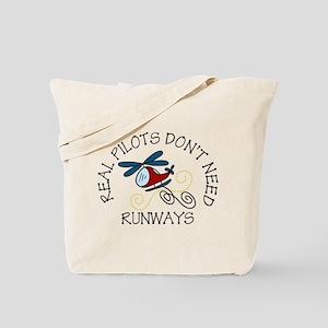 Real Pilots Tote Bag