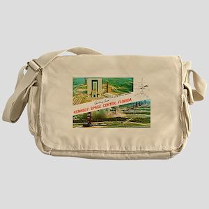 Kennedy Space Center Florida Messenger Bag
