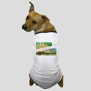Kennedy Space Center Florida Dog T-Shirt
