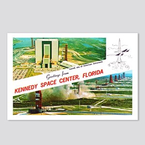 Kennedy Space Center Florida Postcards (Package of