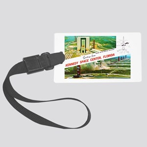 Kennedy Space Center Florida Large Luggage Tag