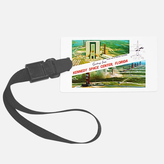 Kennedy Space Center Florida Luggage Tag