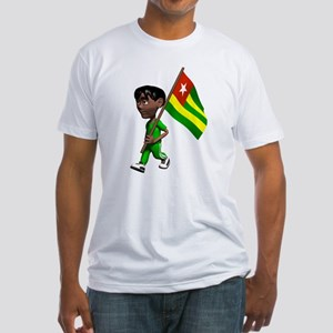 Cute 3D Togo Fitted T-Shirt