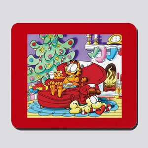 WAITING FOR SANTA! Mousepad