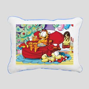 WAITING FOR SANTA! Rectangular Canvas Pillow