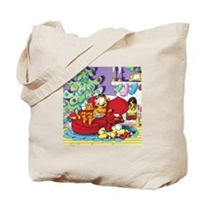 WAITING FOR SANTA! Tote Bag