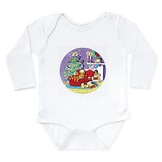 WAITING FOR SANTA! Long Sleeve Infant Bodysuit