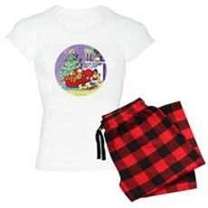 WAITING FOR SANTA! Women's Light Pajamas